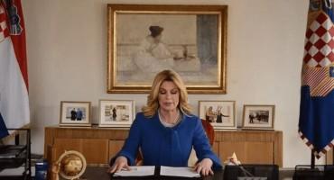 Grabar-Kitarović poručila da će posebnu brigu i dalje voditi o Hrvatima u BiH