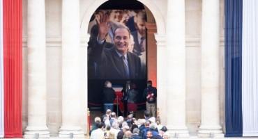 Francuska se oprostila od bivšeg predsjednika Chiraca