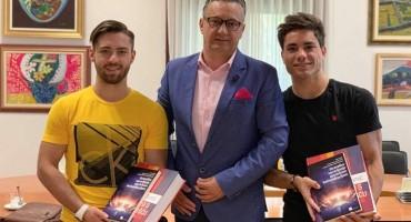 Rektor SUM-a primio osvajače medalja na natjecanju u Zagrebu na Sveučilišnim igrama
