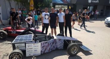 Automobil posuških učenika predstavljen na sajmu novih tehnologija u Mostaru