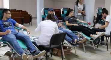 U akciji dobrovoljnog darivanja krvi prikupljeno 38 doza
