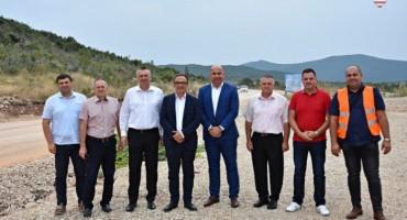 Radovi na poddionici Zvirovići-Miletina trebali bi biti završeni do sredine listopada
