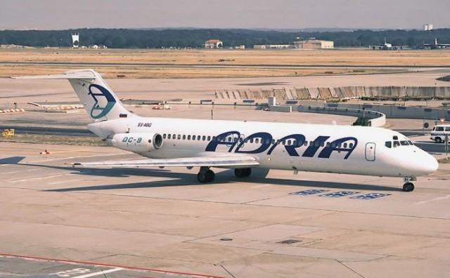 Tržišna inspekcija kaznila slovensku zrakoplovnu kompaniju Adria Airways