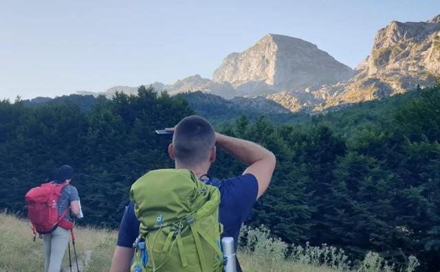 Ljubušaci na najvećem vrhu Crne Gore