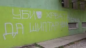 'Ubij Hrvata da šiptar nema brata': Grafit mržnje u Srbiji