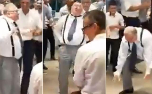 Vladimir Šeks na svadbi u Ljubuškom pokazao neviđene plesne pokrete