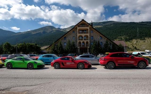 Na Blidinju testirani najnoviji modeli Porschea