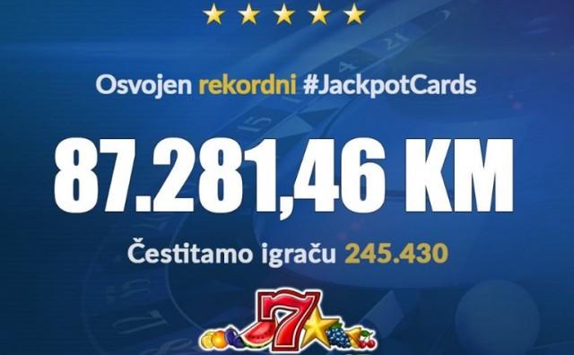 Nevjerojatan dobitak u kladionici Premier: Na online casino igrama dobio 87 tisuća KM