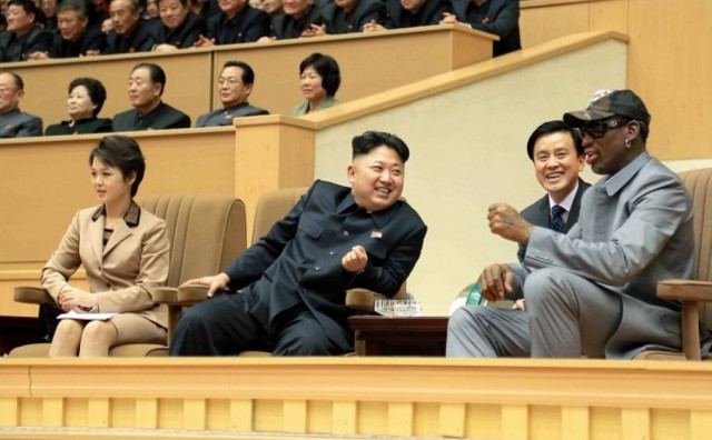 Dennis Rodman o sjevernokorejskom vođi: Volim ga, mislim da je sjajan