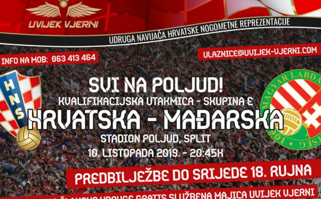 Udruga 'Uvijek vjerni BiH' poziva navijače na utakmicu Hrvatska - Mađarska