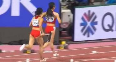 Kineskinje na SP-u trčale štafetu u suprotnom smjeru zbog neviđenog kiksa
