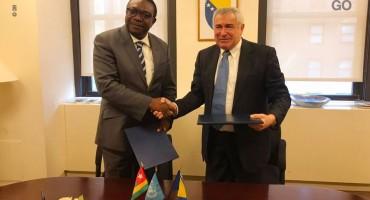 Bosna i Hercegovina i Republika Togo uspostavile diplomatske odnose