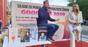 VIDEO/Bruno Šimleša u Mostaru: Ljubav nadilazi ono razumno, iako ljubav nije samo puki osjećaj