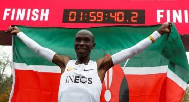 Kenijac Kipchoge pretrčao 42 kilometra ispod dva sata