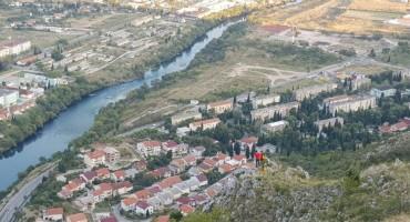 HGSS Mostar imao neobičnu intervenciju: Spašavali koze na litici brda Hum