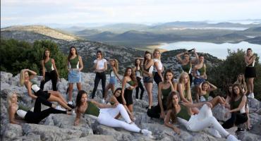 Najljepše djevojke iz BiH uživaju u obilasku znamenitosti Biograda