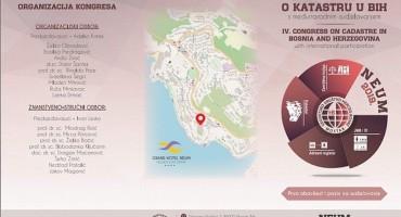 4. Kongres o katastru u BiH s međunarodnim sudjelovanjem