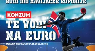 Konzum svoje kupce vodi u Norvešku na Europsko rukometno prvenstvo