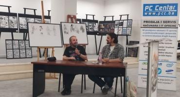 Giancarlo Marzano poručio mladim strip autorima: 'Potrudite se, pošaljite svoje priče'