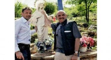 Arianna Mihajlović u Međugorju se molila za zdravlje svoga supruga Siniše