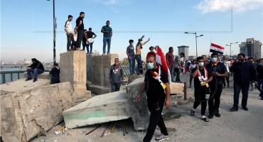 Bagdad: Iračke snage suzavcem rastjeruju prosvjednike