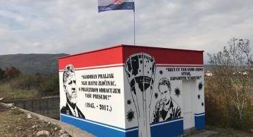 Turčinovići: Naslikani murali u čast Slobodana Praljka i Blage Zadre