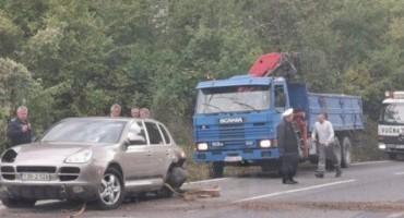 Velike gužve zbog sudara na izlazu iz tunela Ivan prema Konjicu