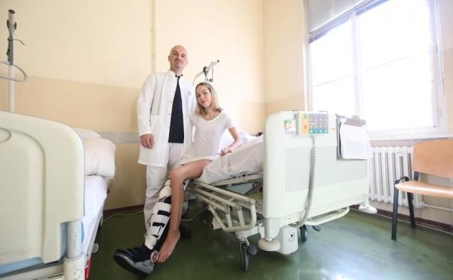 10 dana nakon nesreće pacijentici 'oživjeli' otrgnutu nogu. Operacija trajala više od 11 sati