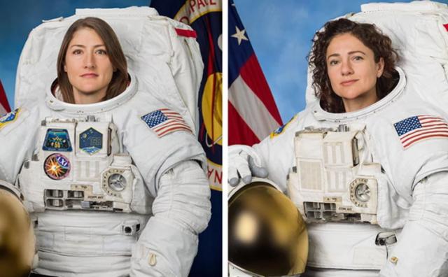 Ovo su prve dvije žene koje su zajedno zakoračile u svemir