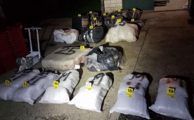 Hercegovci osumnjičeni za proizvodnju pola tone skunka žele se predati