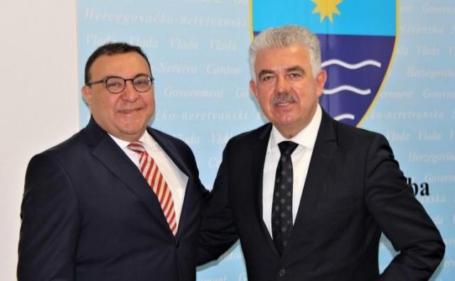 Herceg u razgovoru s generalnim konzulom Turske u Mostaru: Zračna luka nam je poveznica sa zemljama Europe i šire