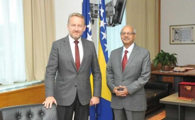 Izetbegović i Ambasador Rao - Naglašeni prijateljski odnosi Pakistana i BiH