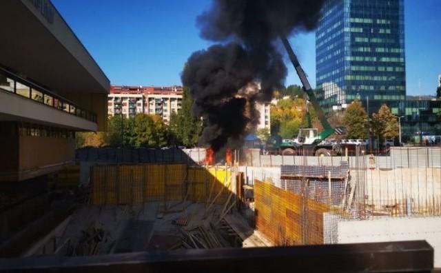 Eksplodirala plinska boca u centru Sarajeva, dvoje ozlijeđenih