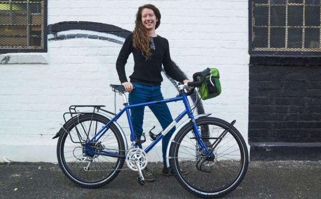 Norvežanka koja putuje biciklom od Južne Afrike do Norveške dolazi u BiH