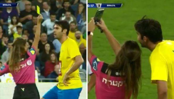 Sutkinja Kaki dala žuti karton pa 'okinula' selfie s njim