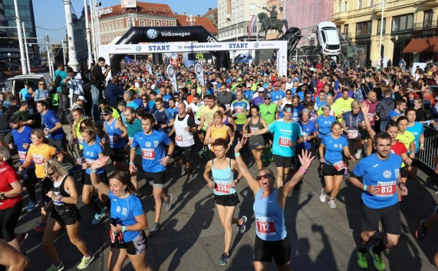 Zagrebački maraton je europski hit s preko 6000 prijava za tri utrke