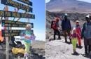 Sa šest godina osvojila je vrh Kilimandžara