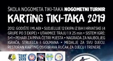Nogometni turnir Karting Tiki-Taka 2019