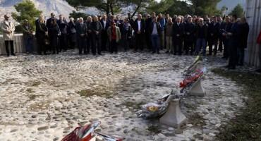 U Mostaru obilježen Dan državnosti na Partizanskom spomen-groblju