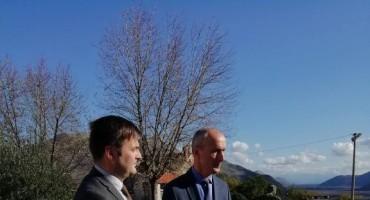 Ministar Tomislav Ćorić u posjetu Općini Ravno
