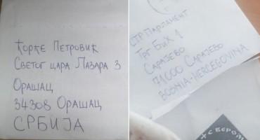 Tko je i odakle poslao kovertu s četničkim simbolom i metak u Parlament BiH