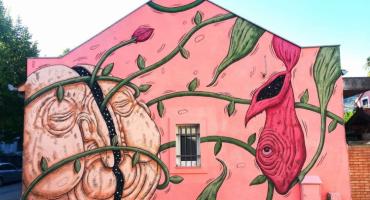 Izložba murala 8. Street Arts Festivala Mostar