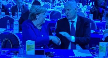 Čović se u Zagrebu sreo sa Merkel: Razgovori o budućnosti EU i BiH