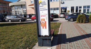 Devastirana pametna klupa u Tomislavgradu