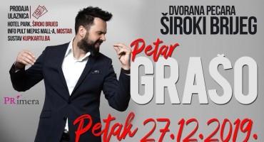 Poznati su dobitnici ulaznica za koncert Petra Graše u Širokom Brijegu