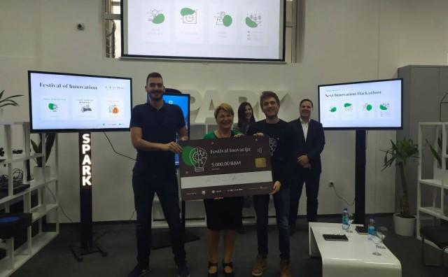 Mostar - pametni grad: Svečano proglašeni pobjednici hackathona Next Innovation