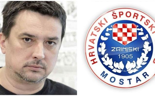Bakir Hadžiomerović na svom twitteru vrijeđa HŠK Zrinjski