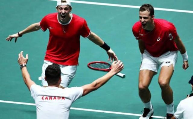 Kanada svladala Rusiju 2:1 i ušla u finale Davis Cupa