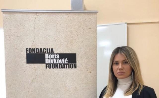 Doris Čuljak predstavljala Mladež HDZ BiH na akademiji Fondacije Boris Divković