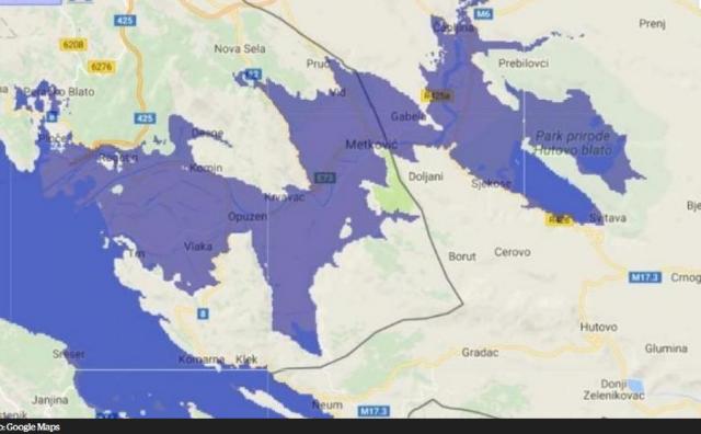 Ako Jadransko more nastavi s rastom: Voda će prodrijeti i do Mostara